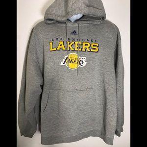 Hoodie Adidas Lakers sz XXL men's